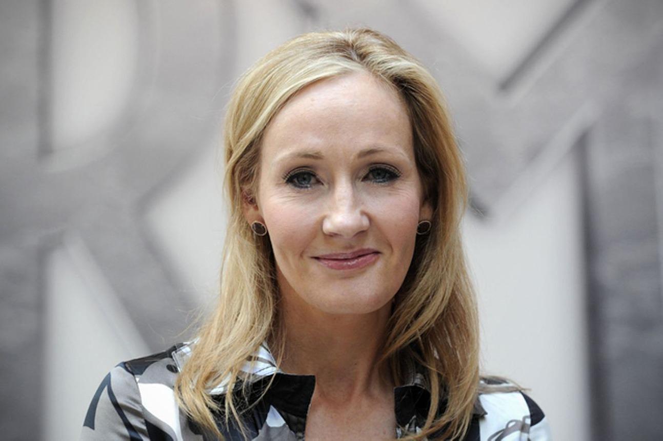 La britannique J.K. Rowling