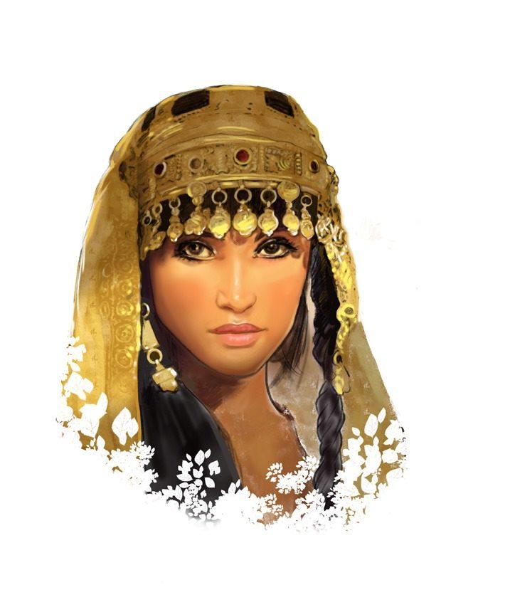 Une représentation du personnage biblique d'Esther